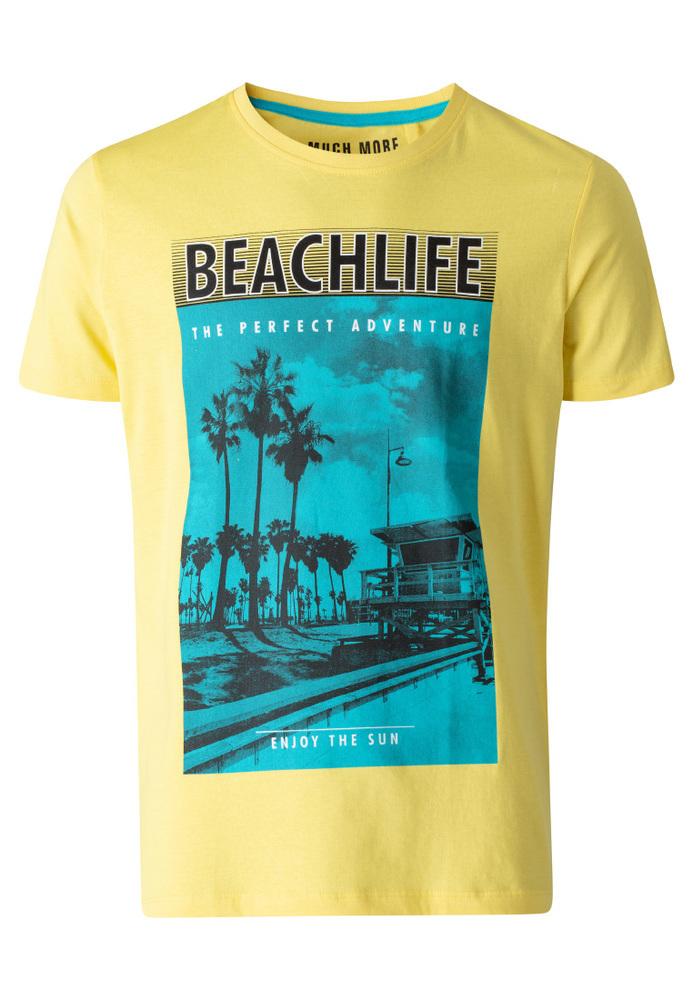 T-Shirt mit Schriftzug-Print