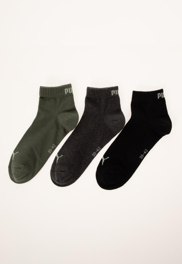 PUMA Sneaker-Socken, 3er-Pack