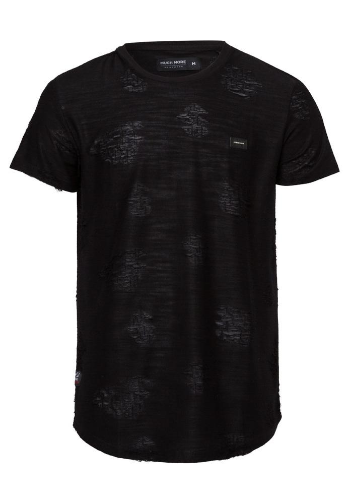T-Shirt mit Musterung