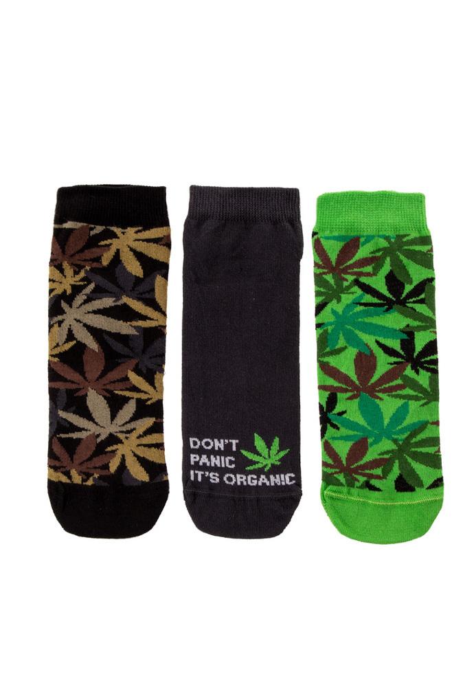 Sneaker-Socken, 3er-Pack