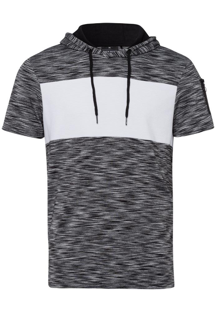 Kapuzenshirt im Colour-Blocking-Look