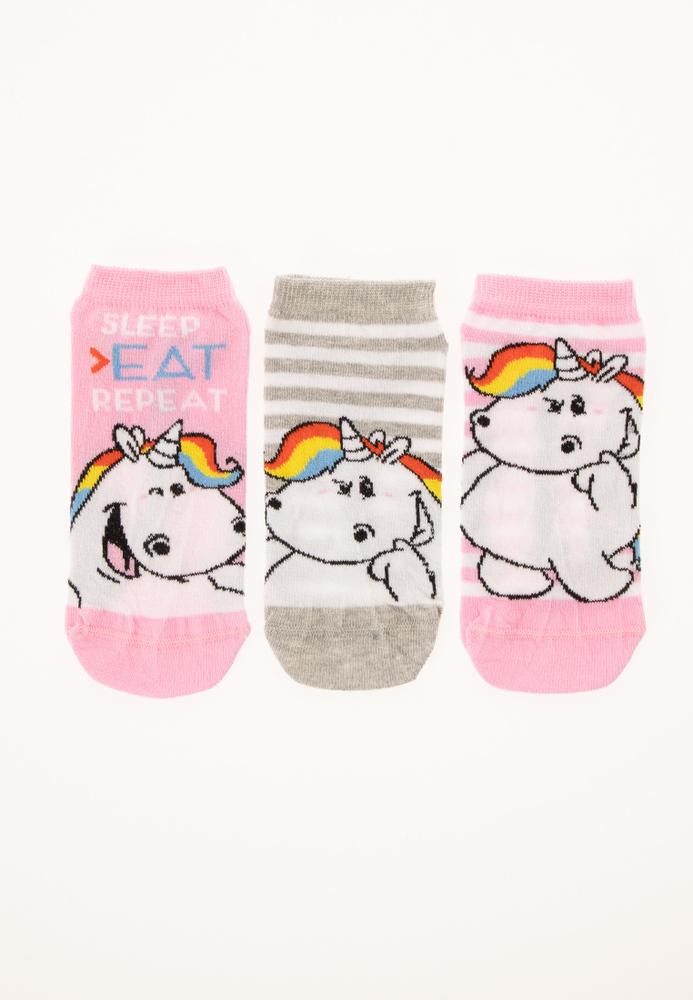 Pummeleinhorn Sneaker-Socken