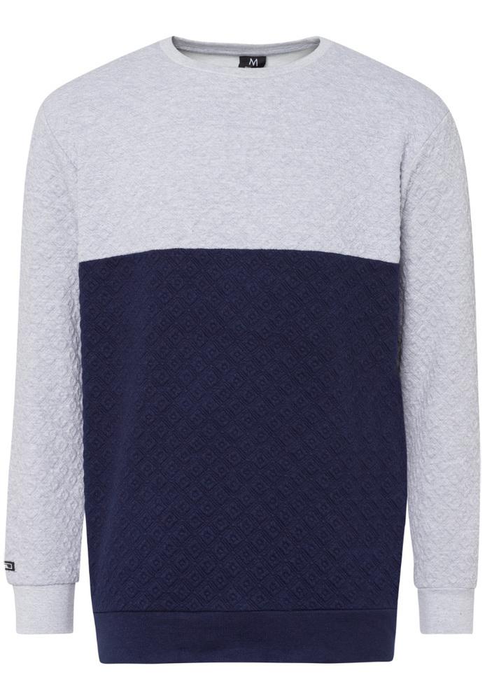 Pullover im Colour-Blocking-Look