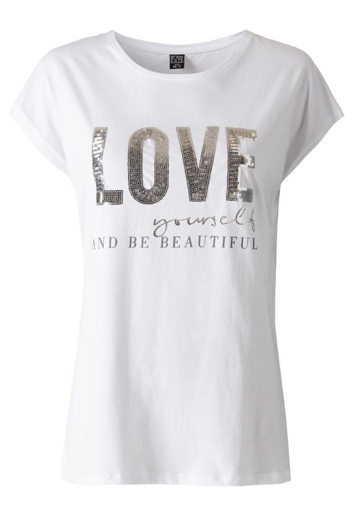 Shirt mit Pailletten-Artwork