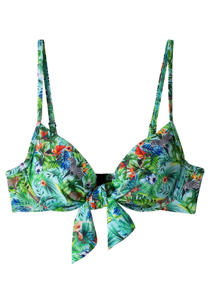 Bikini-Top mit Knoten