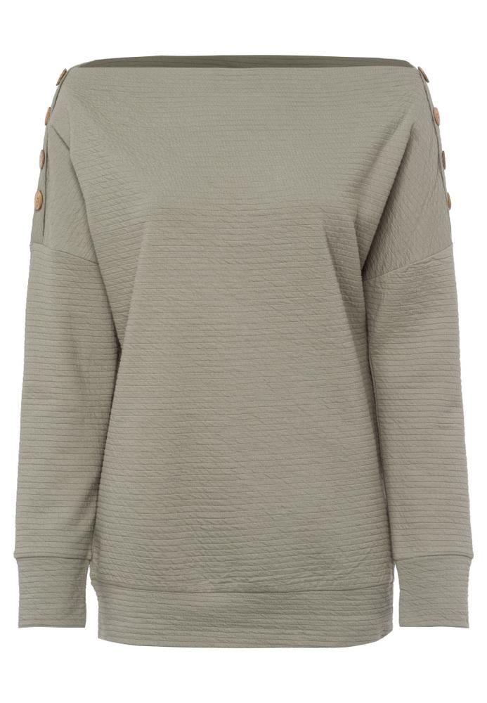 Sweatshirt mit Knöpfen