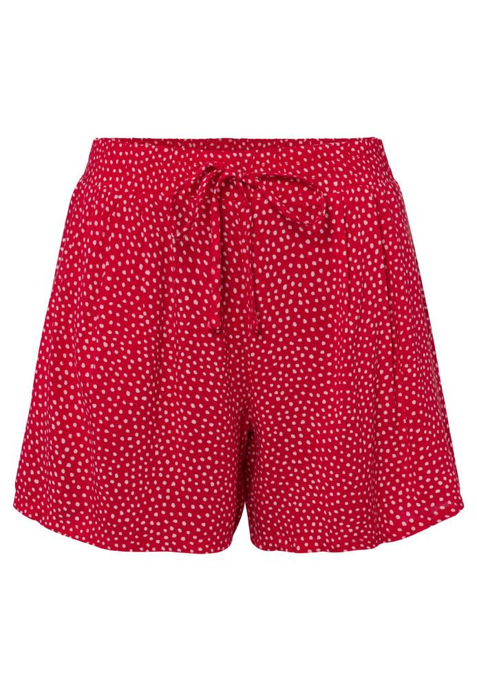 Basic-Shorts mit Punkten