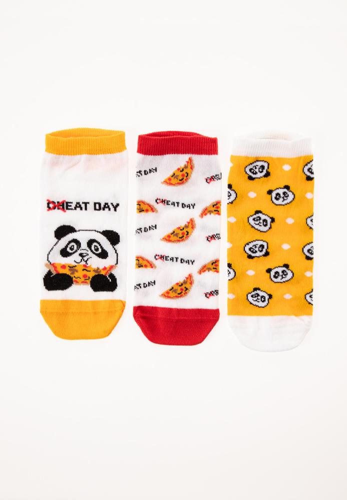 Sneaker-Socken, 3er Pack