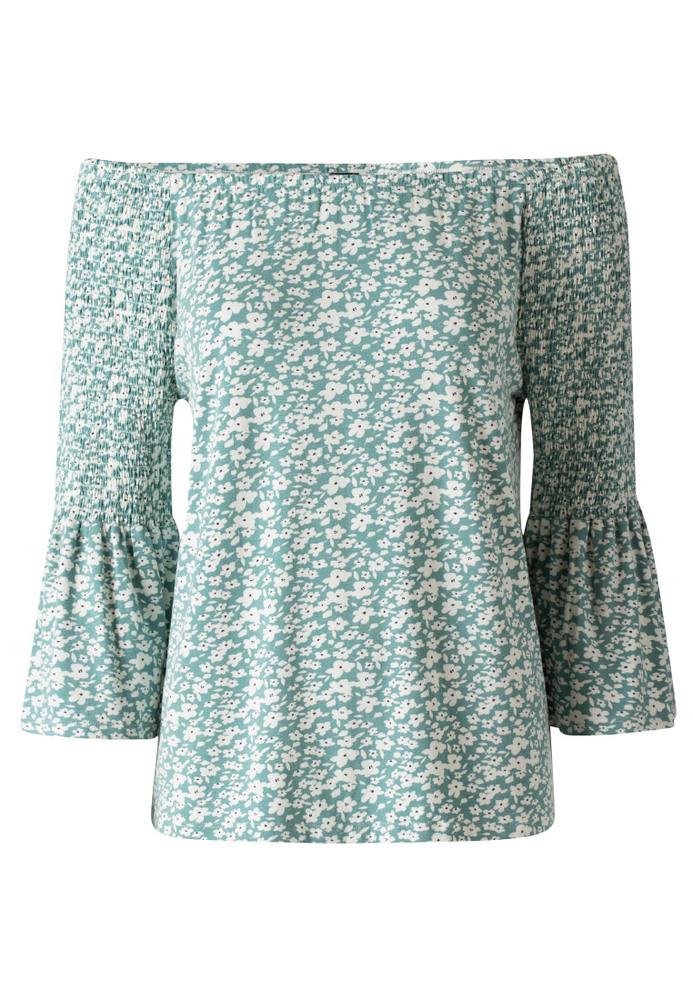 Off-Shoulder-Shirt