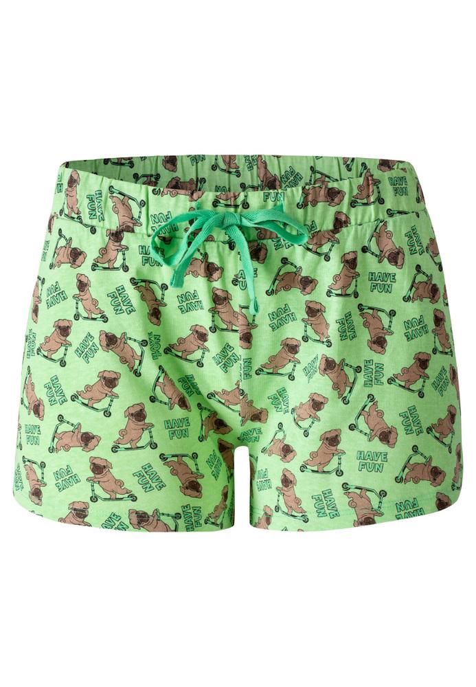 Pyjama-Shorts mit All-Over-Print