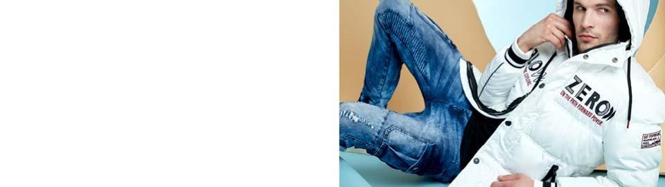 mister lady jeans weisse herren jacke