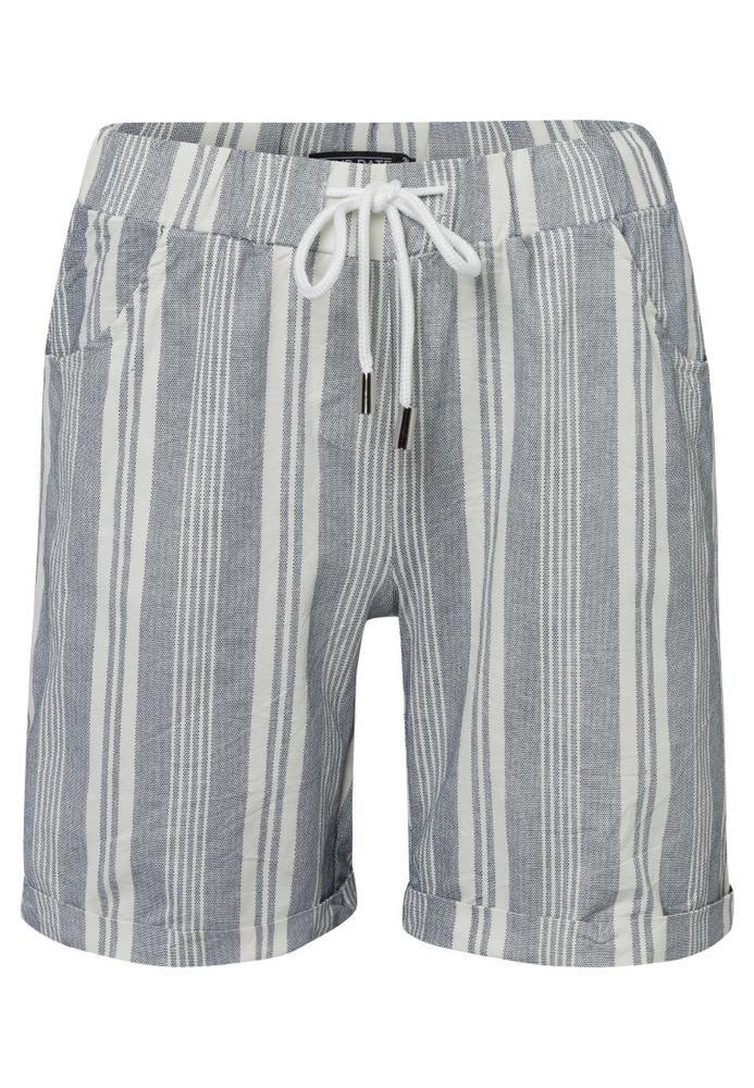 Shorts aus Stretch-Stoff