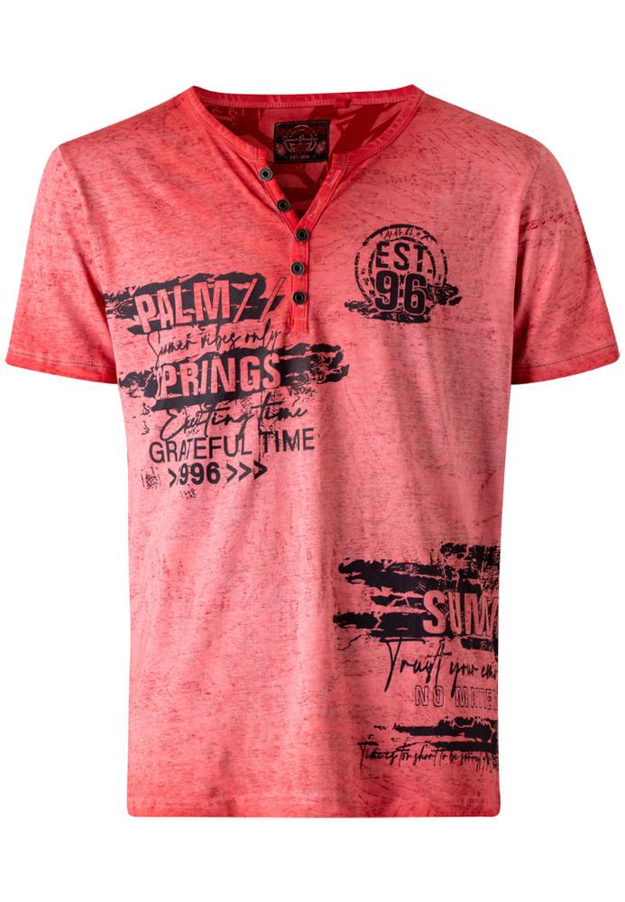 T-Shirt mit Schriftzug-Prints