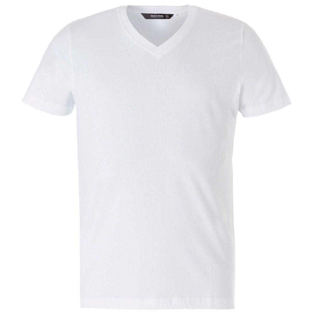 Essential-T-Shirt, V-Ausschnitt