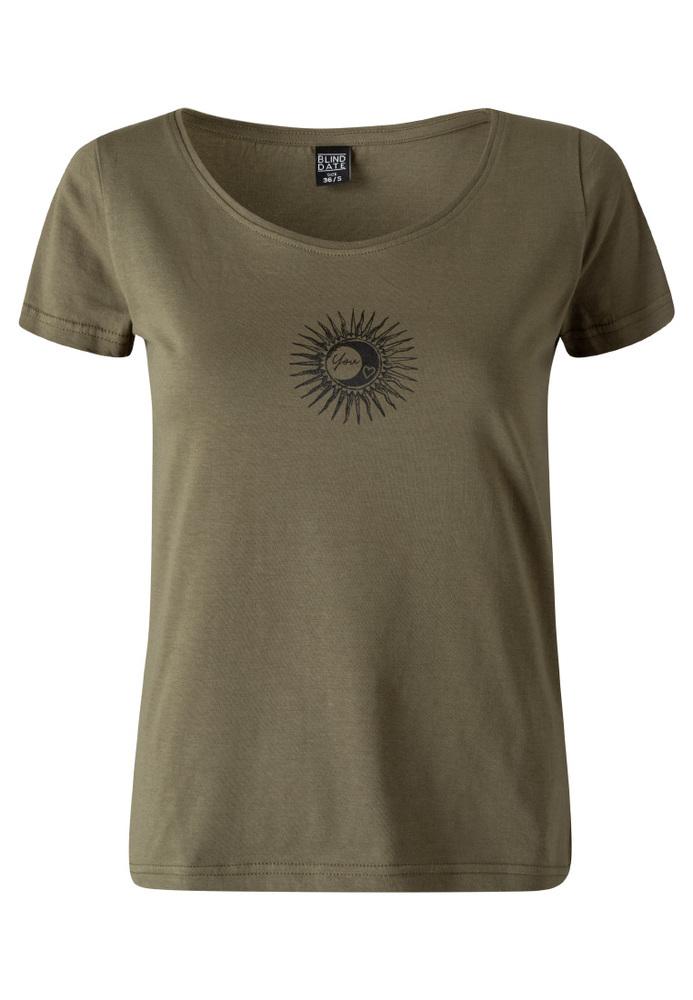 Shirt mit Front-Print