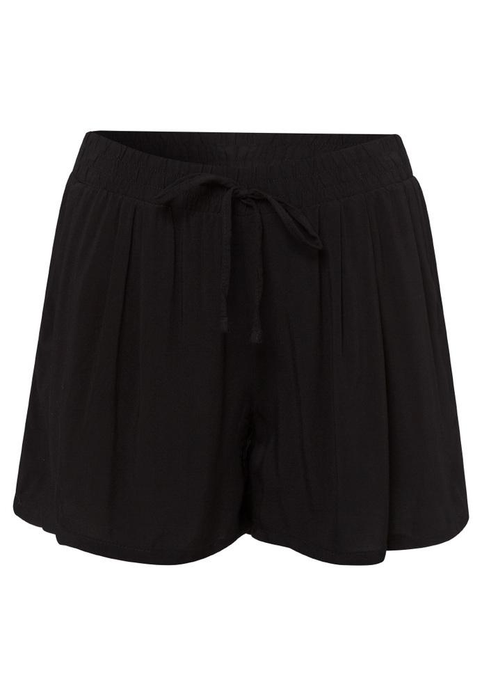 Basic-Shorts aus Viskose