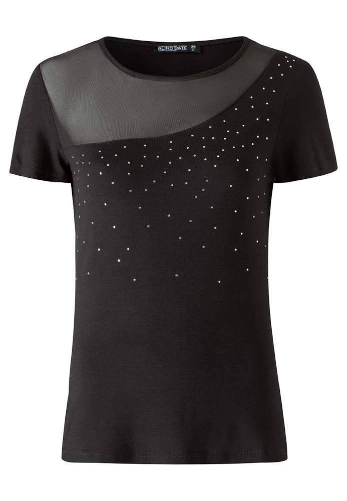 Shirt mit Mesh-Einsatz