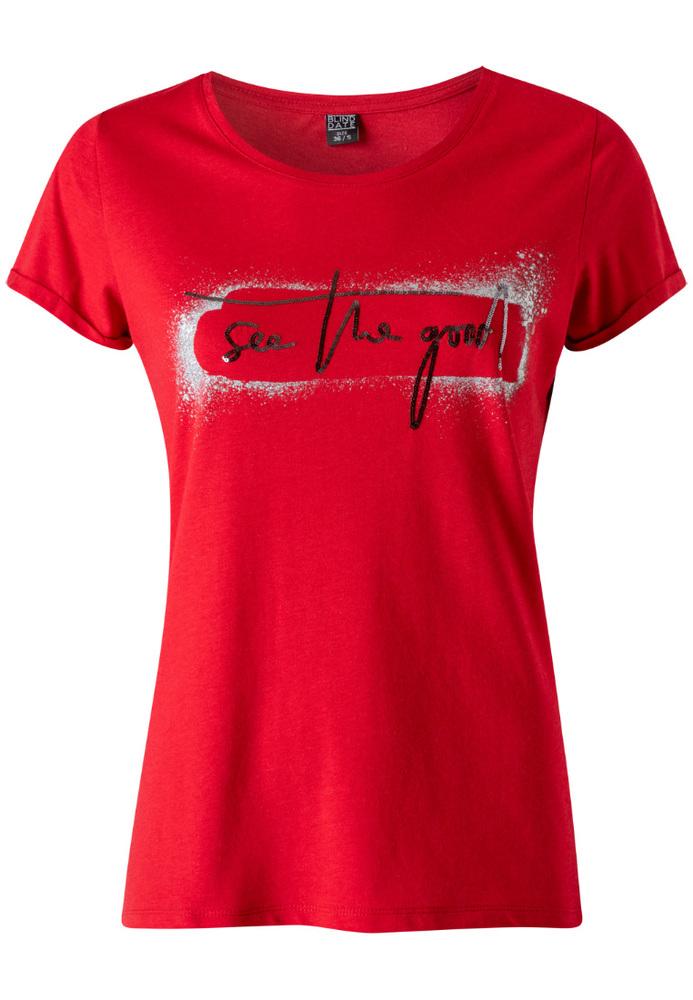 Shirt mit Schriftzug