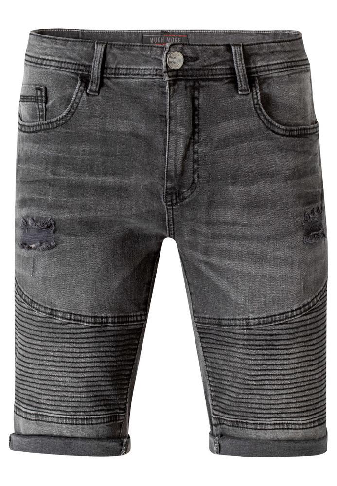 Bermuda-Shorts im Biker-Style