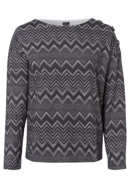 Sweatshirt mit All-Over-Muster