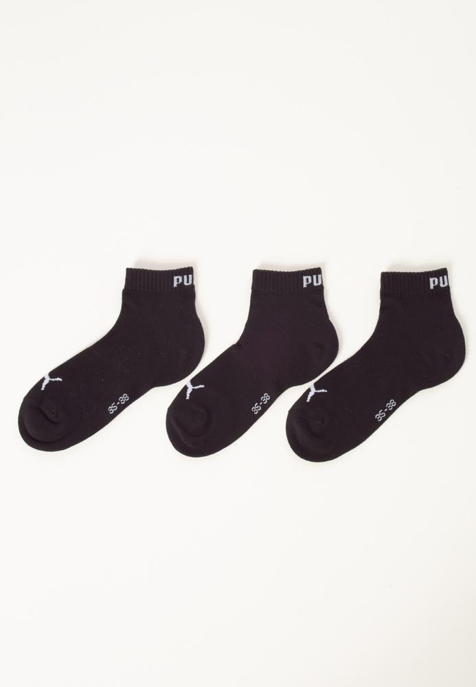 Essential PUMA Quarter-Socken, 3er-Pack