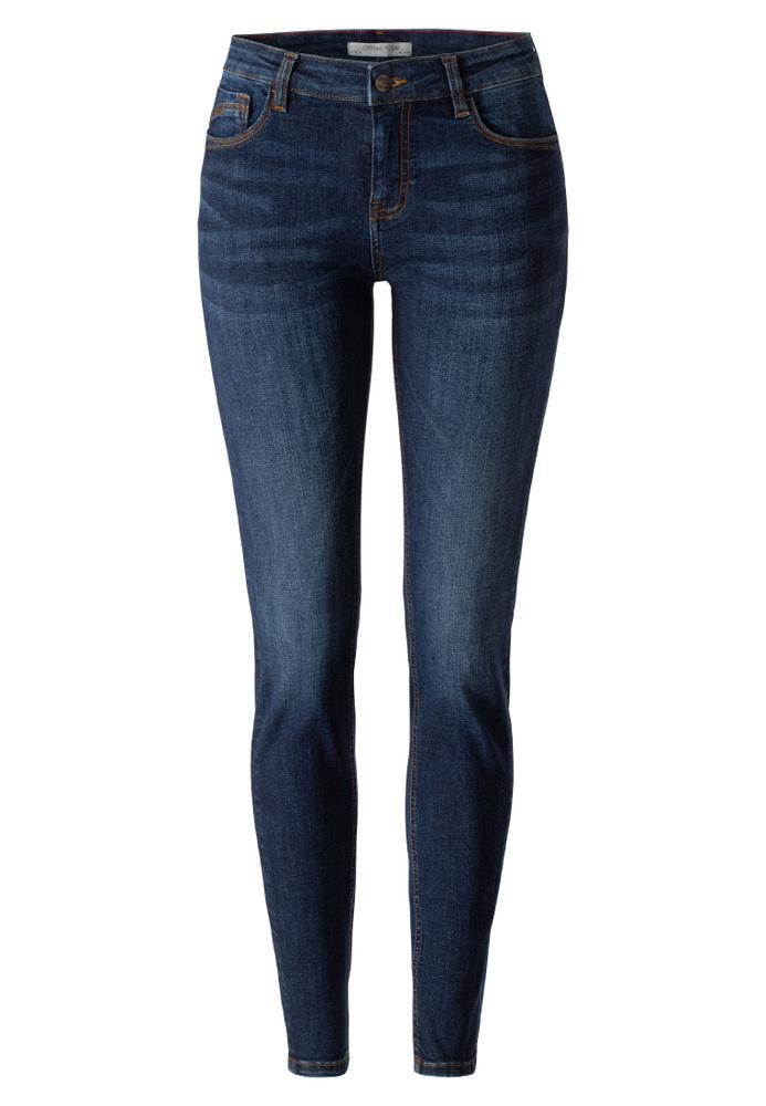 Basic Skinny Regular Waist Jeans