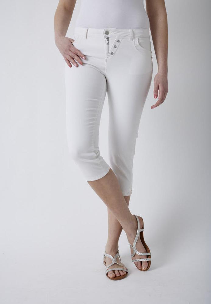 Slim-Fit Capri-Jeans